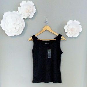 Boohoo Basics Megan Basic Vest NWT 🖤